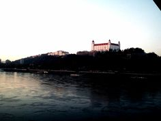 Bratislava Castel, photo was taken from Most SNP.