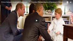 Prince George embarrassed his uncle Prince Harry in front of President Obama during his visit last month | Viral News