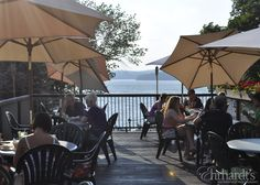 Evening On Our Restaurant Deck Overlooking Lake Wallenpaupack Pocono Mountains Places To Eat