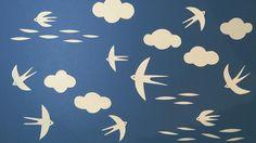 最近はツバメをガン見しています 早くて見えない!  #papercut #swallow #ツバメ