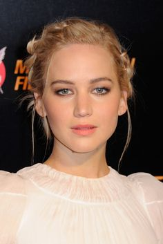 Jennifer Lawrence at the 2015 Paris premiere of 'The Hunger Games: Mockingjay Part 2'.