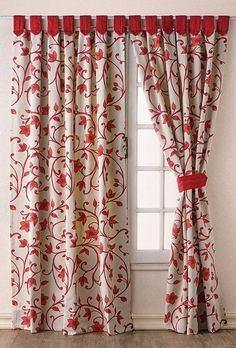 46 Windows Decor That Will Make Your Home Look Cool - Home Decoration Experts Curtains And Draperies, Home Curtains, Curtain Styles, Curtain Designs, Easy Home Decor, Home Decor Trends, Rideaux Design, Interior Design Boards, Interior Decorating Styles