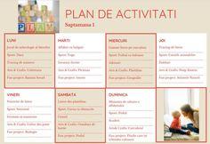 Plan de activitati saptamanale cu cei mici - saptamana 1 - 35 de activitati de facut cu cei mici - Crestem si Calatorim Projects To Try, How To Plan, Montessori, Biology