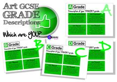 Art GCSE Grade Descriptors