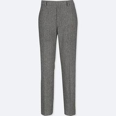 Discover the new selection of Smart Trousers at UNIQLO online. Tweed Trousers, Latest Fashion For Women, Womens Fashion, Uniqlo, Latest Trends, Pajama Pants, Pajamas, Chic, Vintage