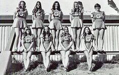Vintage Cheerleader Pictures from 1966-1967