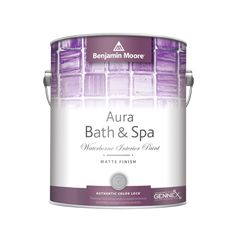 Aura Bath & Spa is a luxurious matte finish designed for high-humidity environments.