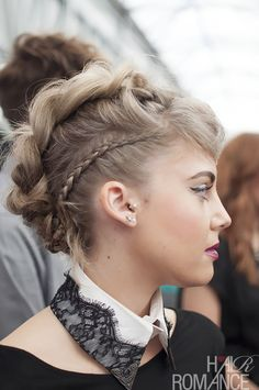 Hair Romance - Love these braids at Hair Expo Sydney 2014