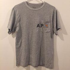 c3685a0c535c A.P.C. T-Shirt Size US M   EU 48-50   2 Carhartt T