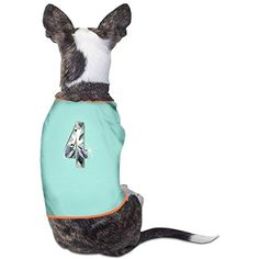 Diamond No 4 Funny Puppy Tee M SkyBlue >>> You can get more details by clicking on the image. (This is an affiliate link) #DogApparelAccessories