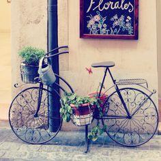 Vélo floral