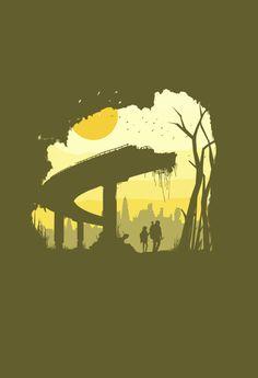 The Last of Us Fan Art - By Brandon Meier #TheLastofUs