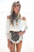 Hot new sexy summer style women Beach Dress Loose T-shirt Top and Short Piece 2 Set  t-shirt dresses wholesale free shipping