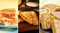 Celebrate National Grilled Cheese Day with some of our favorite grilled cheese recipes. From double cheese to saltimbocca, you'll never think a grilled cheese sandwich is ordinary again!