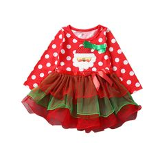7c20ef5fdbc1 Summer Baby Girls Christmas Outfit Clothing Sets Children Necklace T ...