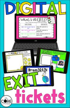 20 Exit ticket strategies that support checking for understanding during classroom lessons. Digital or printable- perfect for formative assessment.