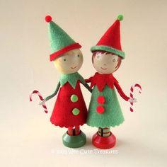 Wee Cute Treasures: Santa's little helpers