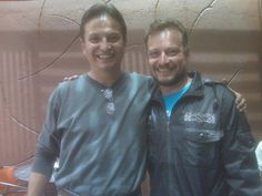 Bolivia:  Former Hollywood actor/director  Pato Hoffmann  (acting coach in La Paz currently)  and his  successful countryman Ramiro Serrano.