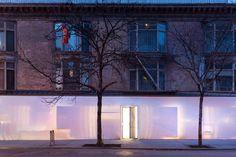 SO-IL pakt gevel in voor expositie Blueprint - PhotoID #323997 - architectenweb.nl