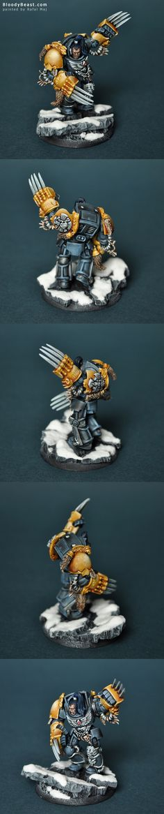 Wolf Guard in Terminator Armor