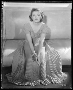 Portrait of Myrna Loy by Laszlo Willinger, 1938