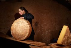 When Catherine Gaiddon left her career plans to take on her grandfather's dairy store in Megève, she learned how cheese and courage go together. Career Planning, Alps, Happiness, Cheese, Bonheur, Being Happy