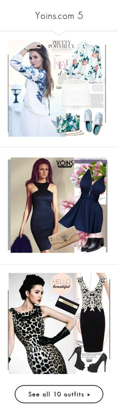 """""""Yoins.com 5"""" by bebushkaj ❤ liked on Polyvore featuring outfit, chic, yoins, Keds, Tiffany & Co., River Island, Proenza Schouler, Behance, Martha Stewart and Miriam Haskell"""