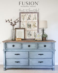 Get a gorgeous country shabby chic distressed finish, or sleek flawless smooth finish using the right tools and accessories by Fusion Mineral Paint.