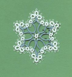 (8) Facebook  Chiacchierino Lavori some lovely tatting on this site
