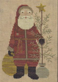 Country Santa by Teresa Kogut
