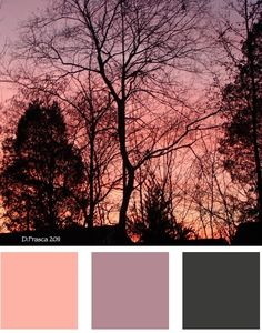 Ending the day in great #color. This is the view from my office window. #photography