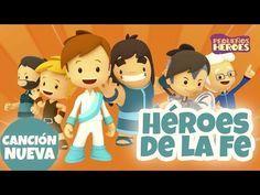 Las Mejores 34 Ideas De Heroes De La Fe Canciones Infantiles Canciones Niños Cristianos