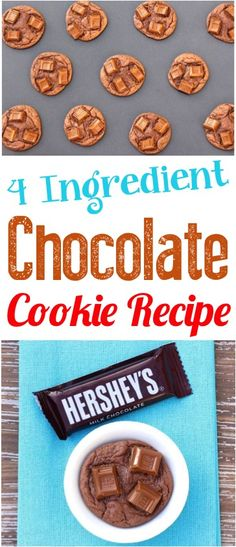 Chocolate Desserts for a Crowd! These easy cake mix cookies ideas are simple Summer cookie recipes for kids!