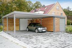 Carport Design Trends Ideen Holz Alu Haus Gestaltung