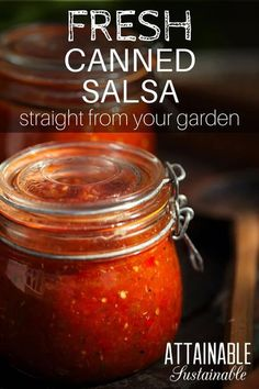 for a great salsa recipe to use up your garden fresh tomatoes? This salsa recipe is full of fresh summertime flavor and is great for stocking the pantry. Use it as a dip with chips, or as an addition to recipes like chili or soup. The Best Salsa Recipe For Canning, Salsa Canning Recipes, Canning Salsa, Canning Tomatoes, Canning 101, Fresh Canned Salsa Recipe, Garden Fresh Salsa Recipe, Tomato Canning, Fresh Tomato Recipes