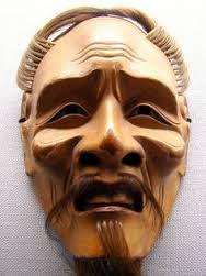 Resultado de imagem para máscara de teatro noh japonés