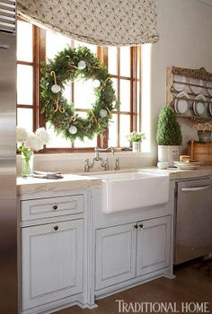 Christmas Kitchen details