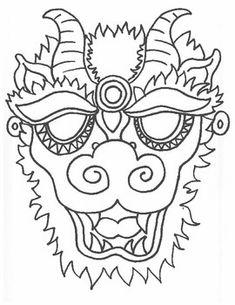 how to make a dragon mask