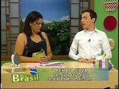 Programa Arte Brasil - 27/01/14 - Renata Silva - PatchWork