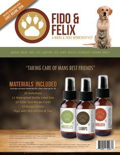 Fido & Felix Make & Take Workshop Kit, $35.00