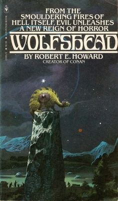 PAUL LEHR - Wolfshead by Robert E. Howard - 1979 Bantam Books