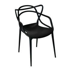 Cadeira de Jantar Allegra Solna Preta