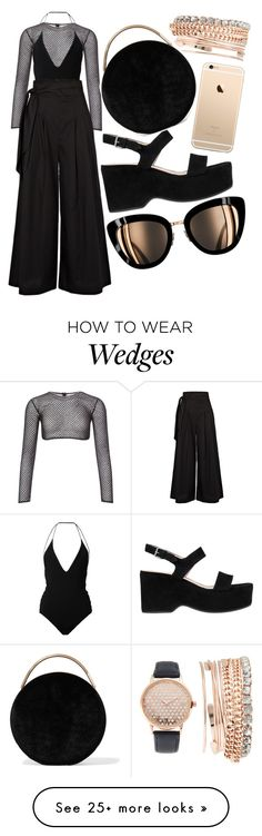 """""""NYFW"""" by maddog22 on Polyvore featuring Jessica Carlyle, PA5H, Dion Lee, Paper London, Marc Jacobs and Eddie Borgo"""