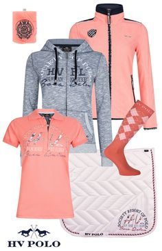 HV Polo Goodland Coral #hvpolo #summer17 #equestrian #fashion