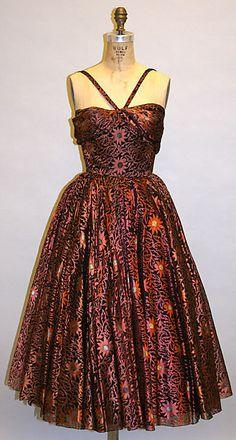 Traina-Norell Evening Dress, 1953