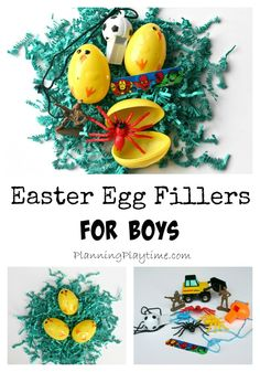 Non-Candy Easter Egg Fillers… for Boys | Planning Playtime
