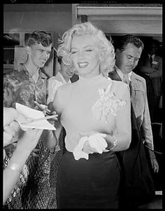 24/07/1953 Arrivée au Canada - Divine Marilyn Monroe