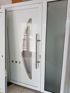Haustüren weiß ohne glas  Aluminium - Glas Haustüre, Austausch ohne Schäden | türen ...