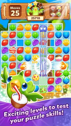 Tropical Trip - Match 3 Game - screenshot