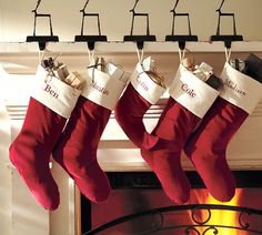Twig Reindeer Stocking Holder | Pottery Barn